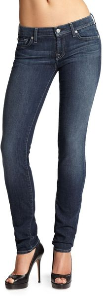 7 For All Mankind Roxanne Skinny Jeans - Lyst
