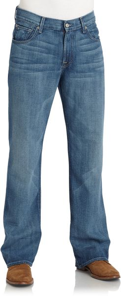 7 For All Mankind Relaxed Fit Denim Jeans - Lyst