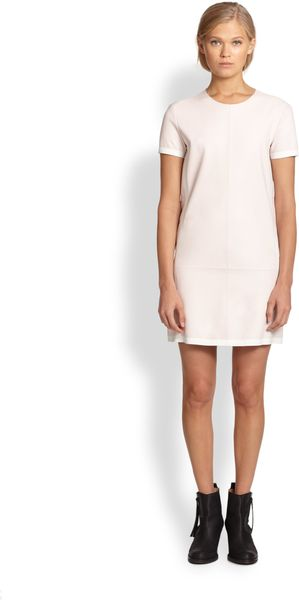 Acne Maggie Leather Dress - Lyst