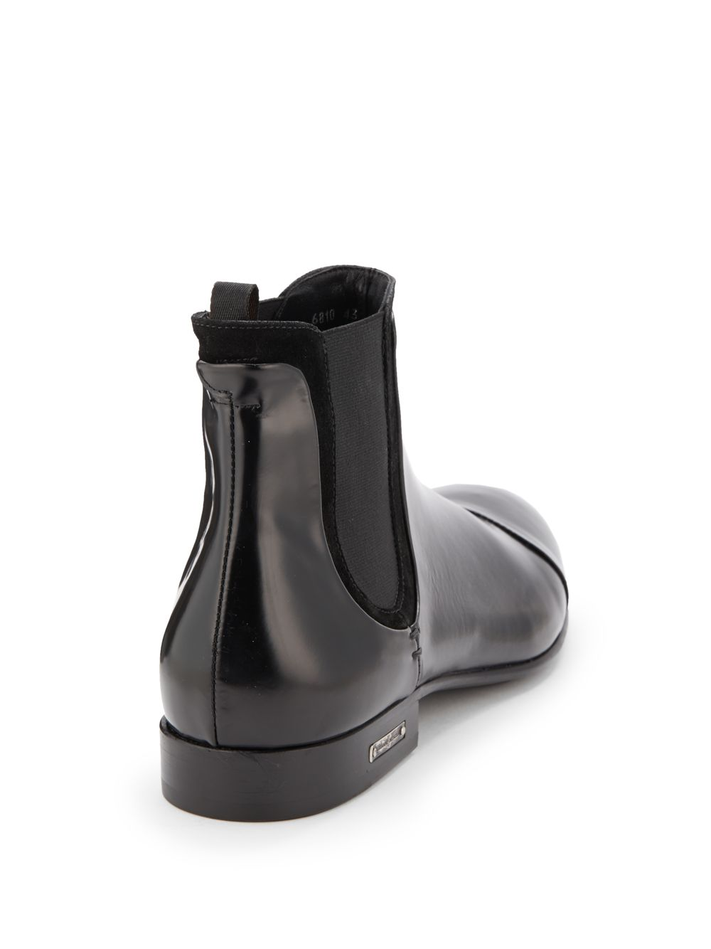 ALESSANDRO DELL'ACQUA Leather Boots 8XqY6bp