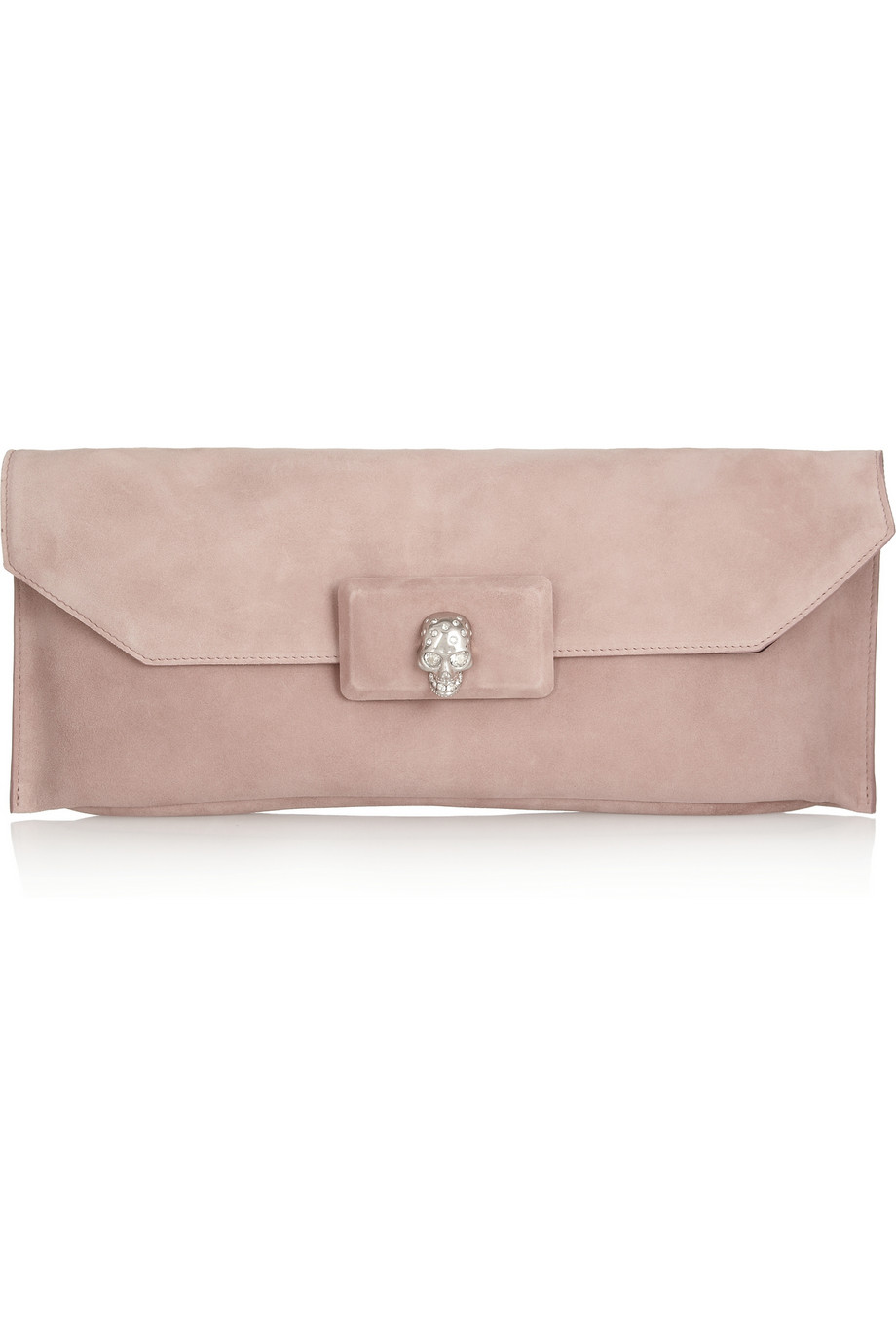 Embellished leather clutch Alexander McQueen P8P7qDexI