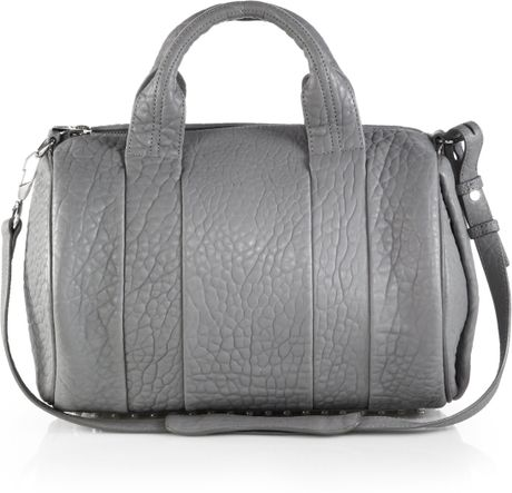 alexander wang rocco duffle bag in gray sesame lyst. Black Bedroom Furniture Sets. Home Design Ideas