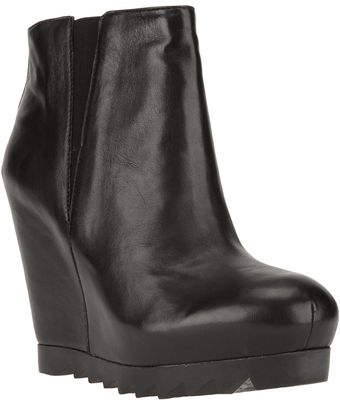 Ash Golden Wedge Boot - Lyst