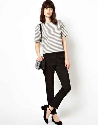 Asos Shell Top in Washed Stripe - Lyst