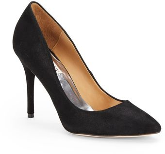 Badgley Mischka Vision Leather Pumps - Lyst