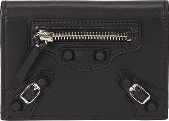 Balenciaga Classic Double Card Holder - Lyst