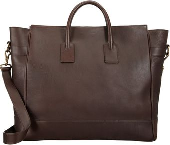 Barneys New York Ziptop Tote - Lyst
