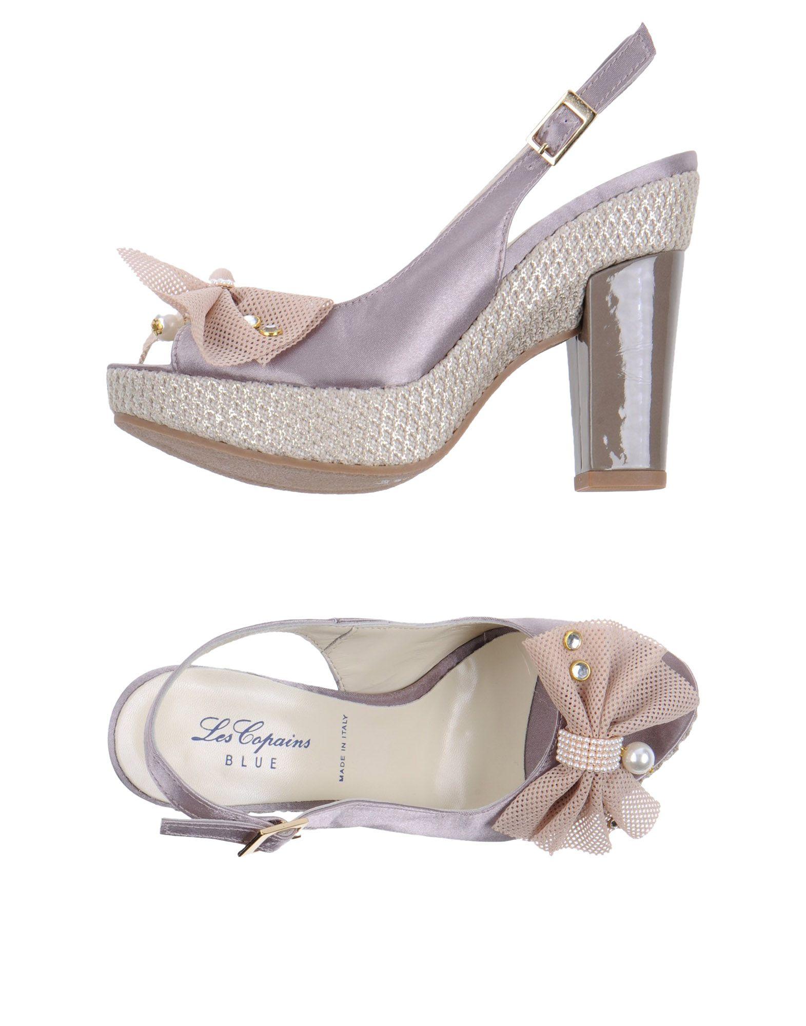 FOOTWEAR - Sandals Blue Les Copains Sale Factory Outlet Shop Offer For Sale vv2SZClrgJ