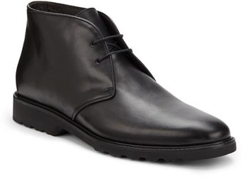 Bruno Magli Malcolm Leather Chukka Boots - Lyst