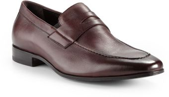Bruno Magli Medoro Leather Penny Loafers - Lyst