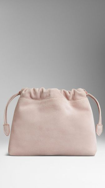 Burberry The Beauty Crush in Sueded Kidskin in Pink (ash rose) - Lyst