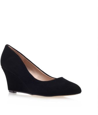 Carvela Krissy Mid Heel Wedge Court Shoes - Lyst