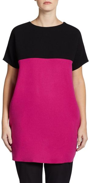 Costume National Colorblock Sweater - Lyst
