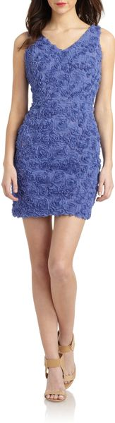 Cynthia Steffe Destiny Floral Applique Dress - Lyst