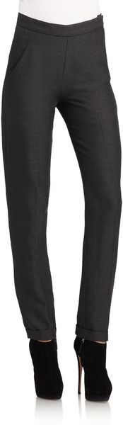 Donna Karan New York High Waisted Pants - Lyst