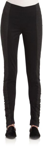 Donna Karan New York Twotone Leggings - Lyst
