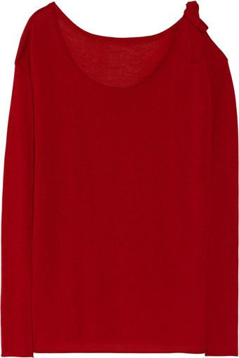 Donna Karan New York Cashmere Wool and Silkblend Sweater - Lyst