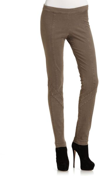 Donna Karan New York Seamed Pants - Lyst