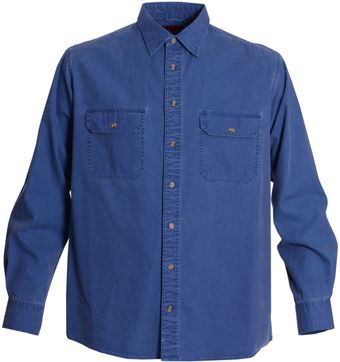 Double Two Long Sleeve Casual Shirt - Lyst
