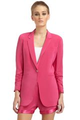 Elizabeth And James Heather Boyfriend Blazer - Lyst