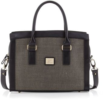 Gianfranco Ferré Large Wovencenter Satchel Bag  - Lyst
