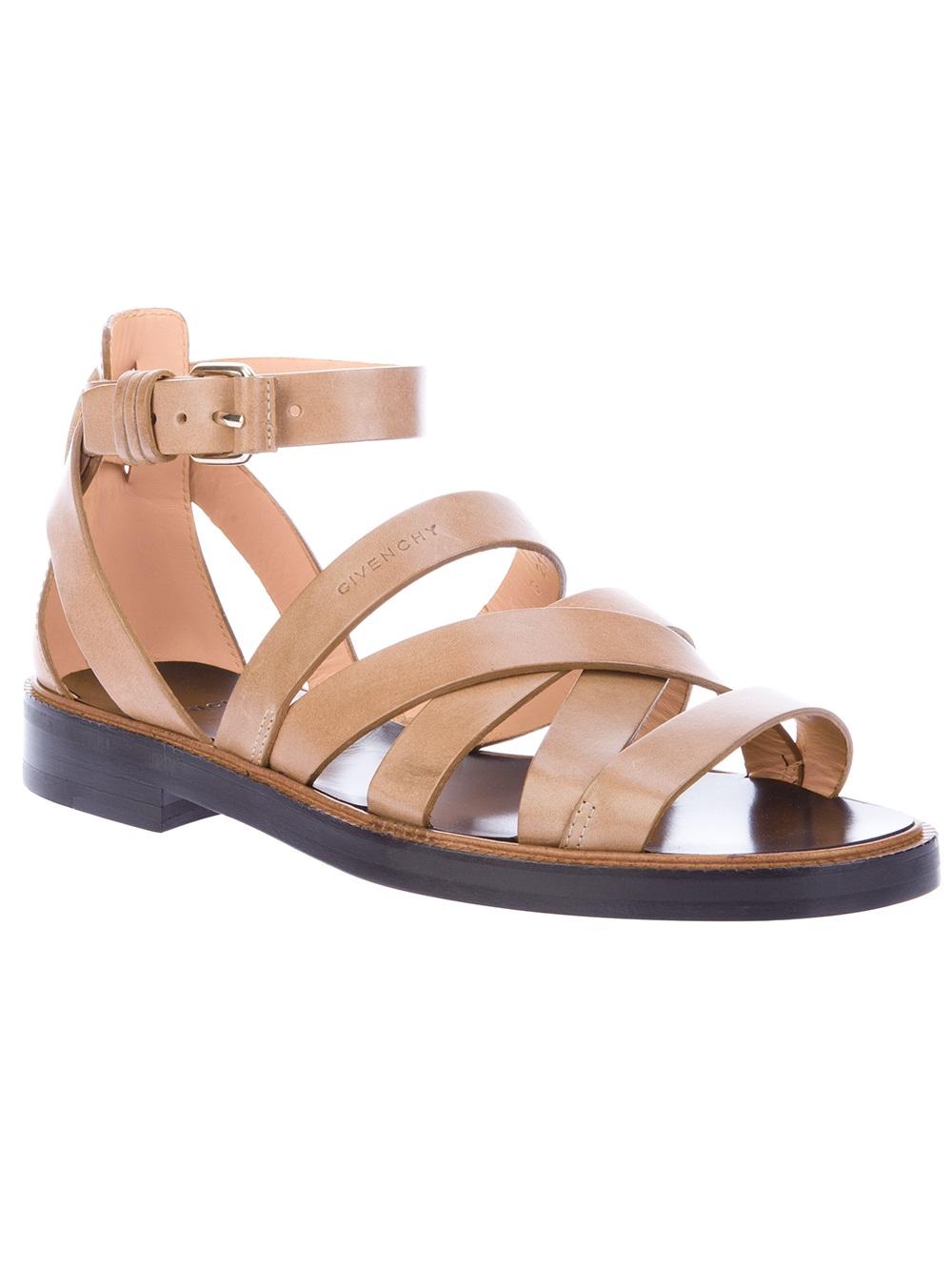 Lyst Givenchy Gladiator Sandal In Brown For Men