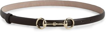 Gucci Horse Bit Leather Belt - Lyst