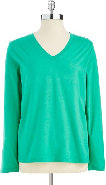 Hue Long Sleeved Sleep Shirt - Lyst