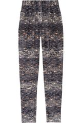 Isabel Marant Edilon Devorãvelvet Tapered Pants - Lyst