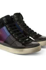 Jimmy Choo Belgravia Patentleather Sneakers - Lyst