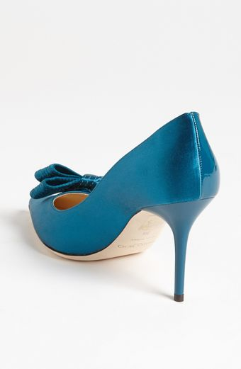 Jimmy Choo Bow Pump - Lyst