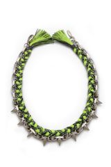 Joomi Lim Punk Carnival Rio Spike Braided Necklace - Lyst