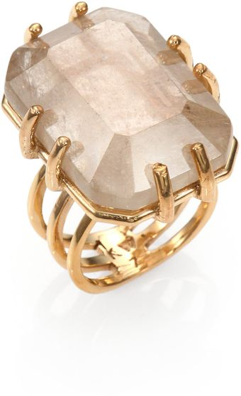 Kelly Wearstler Hampstead Quartz Ring - Lyst