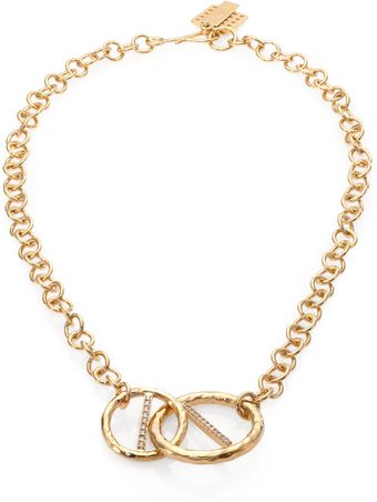 Kelly Wearstler Regent Chain Link Pendant Necklace - Lyst