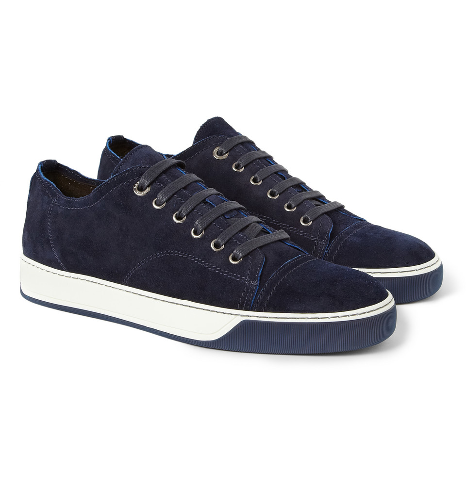 The Blue Suede Shoes