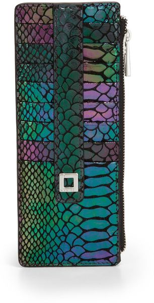 Lodis Palm Springs Credit Card Caseblue - Lyst