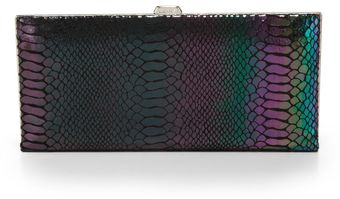 Lodis Palm Springs Diva Clutch Walletpeacock - Lyst