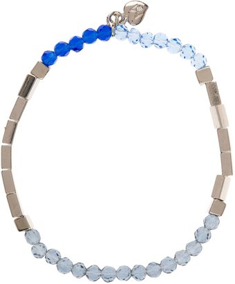 Martine Wester Moonlight Small Beaded Stretch Bracelet - Lyst