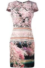 Mary Katrantzou Elay Printed Dress - Lyst