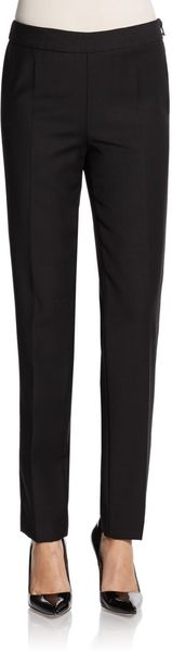 Moschino Cheap & Chic Wool Canvas Slim Pants - Lyst