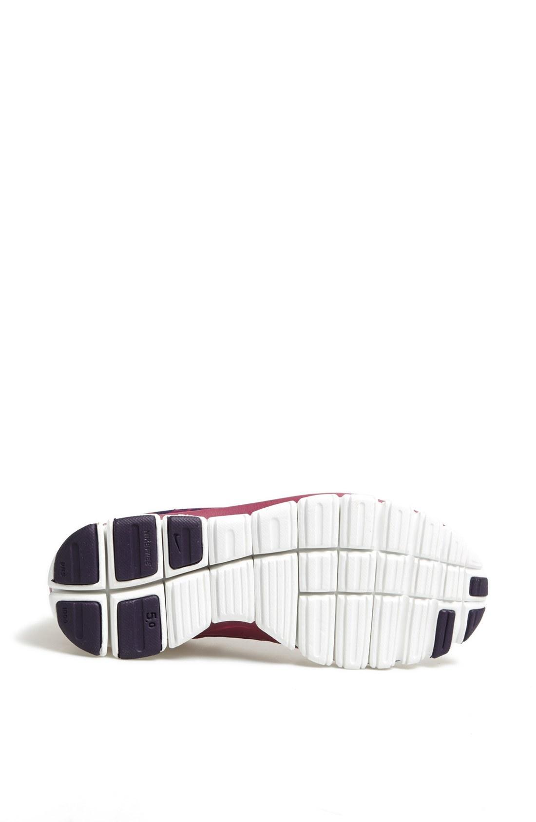 Nike. Purple Free 50 V4 Running Shoe