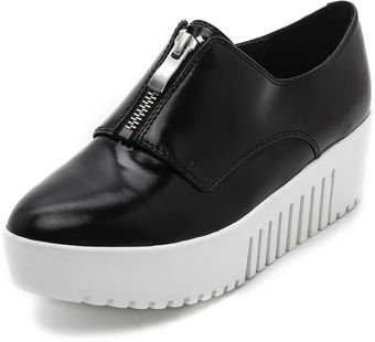 Opening Ceremony Zip Front Platform Oxfords - Lyst