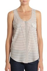Pjk Patterson J. Kincaid Area Striped Tank Top - Lyst