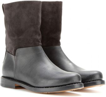 Rag & Bone Highland Suede and Leather Boots - Lyst