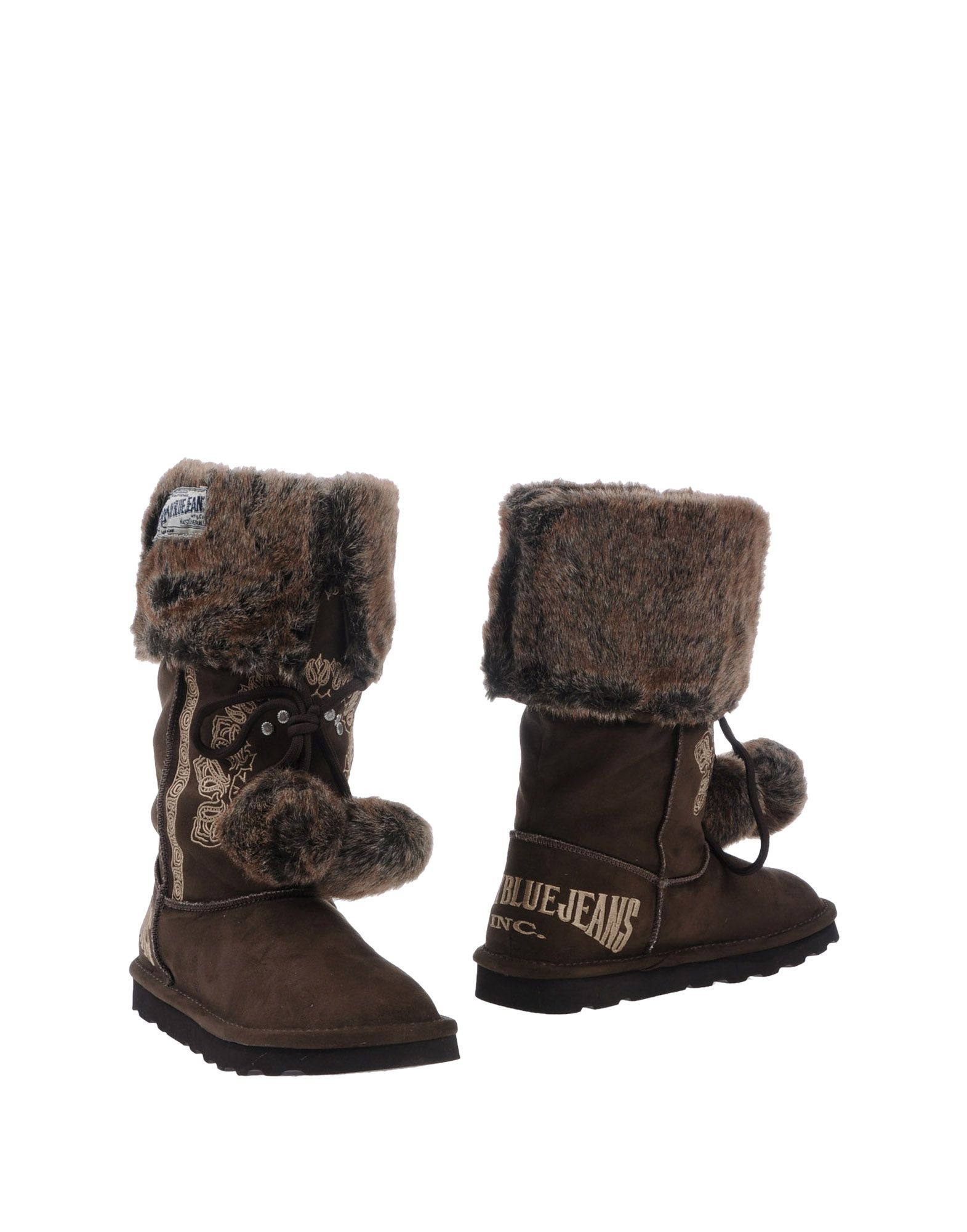Replay Boots in Brown (dark brown)