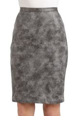 Sachin & Babi Kiel Acid Wash Pencil Skirt - Lyst