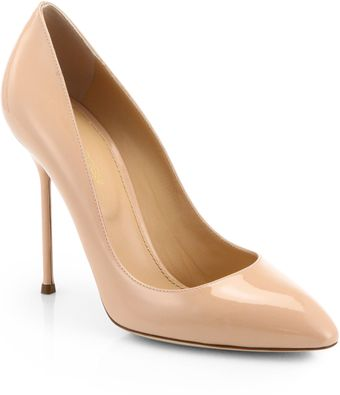 Sergio Rossi Chi Chi Patent Leather Pumps - Lyst