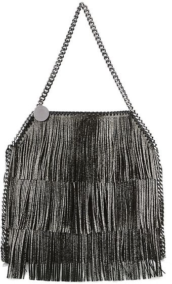 Stella McCartney Medium Falabella Fringed Tote - Lyst