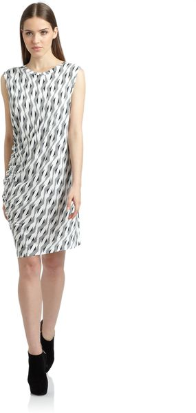 Thakoon Addition Cotton Asymmetric Dress - Lyst