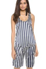 Thakoon Addition Striped Tank - Lyst